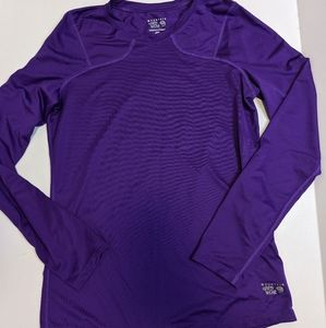 NWOT Mountain Hardwear Base Layer Purple
